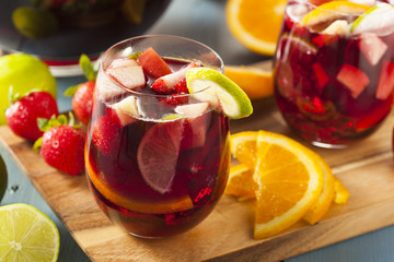 sangria time, all souls witchy women wine note