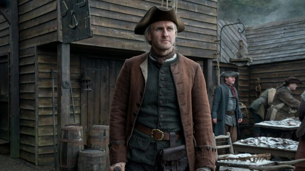 steven cree, gallowglass, a discovery of witches, outlander